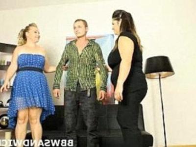 BBW Sandwich   3some  bbw  chubby girls  czech girls  domination  fat girls  femdom  hardcore  mistress  slave