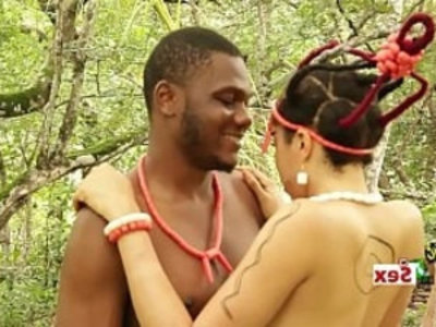 Sex With An African goddess New movie Trailer | 3some  african girls  black  blowjob  ebony  family taboo  hardcore  natural tits  pussy licking  rough sex