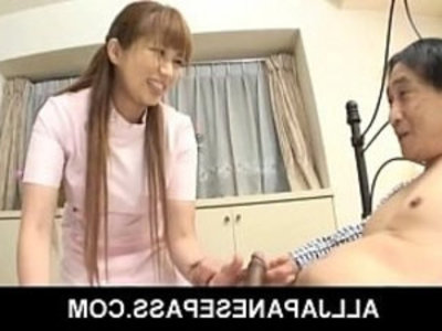 Sexy mature nurse Myuu Hasegawa and a patient | asian girls   big tits   blowjob   cock sucking   japanese girls   mature   nurse   oral sex   oriental girls   sexy girls
