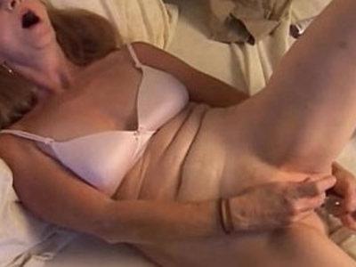 Gorgeous mature amateur has an orgasm | amateur  busty  gorgeous  mature  orgasm