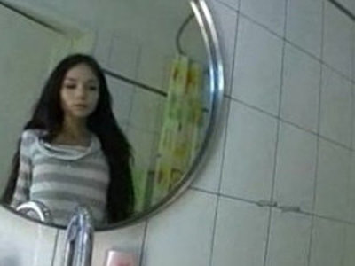 Beautiful russian teenager in the bathroom | bathroom   beautiful   russian girls   teenagers
