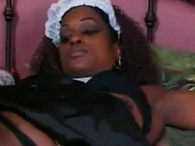 dark chocolate housemaid helps her boss to cum | boss  dark hair  sperm