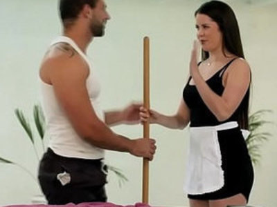 Hot Maid gets down and Dirty | dirty  maid