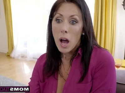 Momsteachsex step mom and son cum together | big tits   boobs   brunette   cum on tits   cumshots   friends   handjob   hardcore   milf   mother
