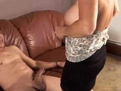 Gorgeous granny loves to fuck and eat cum | gilf  gorgeous  sperm