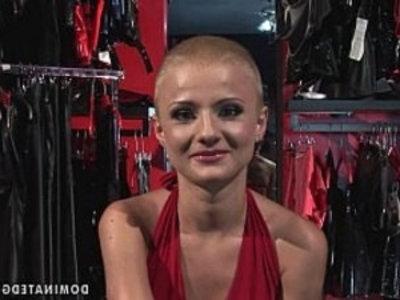 Submissive bondage shopgirl whore manacled spanking and BDSM fucking | bdsm  blowjob  bondage  dildo  domination  emo girls  forced sex  submissive  whores  young