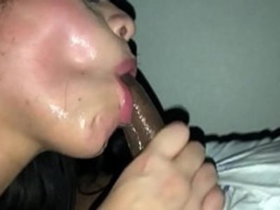 Nasty cum slut rims asshole and swallows bbc | amateur   ass worship   black cock   blowjob   cumshots   deepthroat   facials   homemade   interracial   latin girls