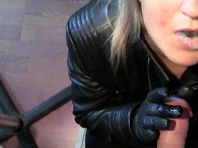 Leather Blowjob.WMV | blowjob  leather