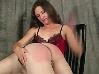 Leda spanks naughty girl with her hands and paddle | naughty girls  slave