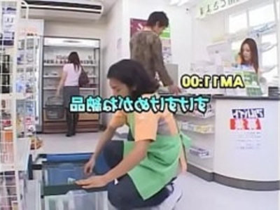 Japanese Act Super Market X Ray Magic Glass | big booty   japanese girls   public sex