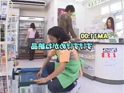 Japanese Act Super Market X Ray Magic Glass | big booty  japanese girls  public sex