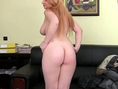 Huge natural tits redhead has threesome casting | 3some   casting   redhead   tits