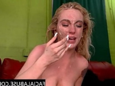 19 year old throat abused to extreme | amateur  blonde  blowjob  brutal  deepthroat  extreme  old and young  oral sex  rough sex