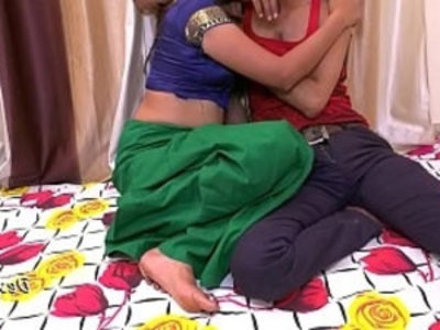 Indian Hot Bhabhi herself With Young College Boy | aunty   boobs   boy   college   desi girls   extreme   hardcore   homemade   horny girls   indian girls