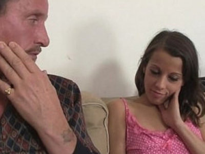 He finds her riding his dads cock | cock  daddy  riding cock