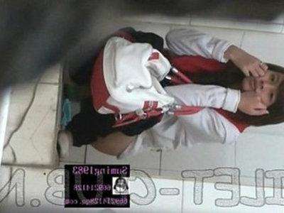 Hidden toilet cam quay len | chinese  hidden cameras  pissing  spying videos  toilet