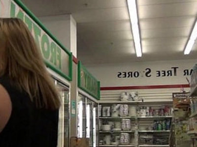 tiny amateur teen with braces shopping for strange object pussy insertions | blonde   insertion   pussy   teens