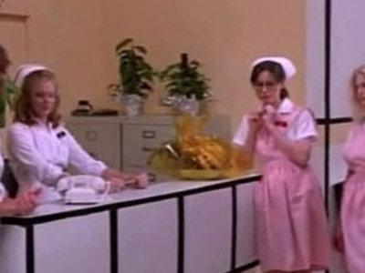 Sexy hospital nurses have a sex treatment | doctor  nurse  sexy girls