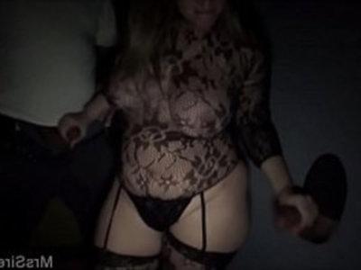 Thick Wife at the Gloryhole | big booty  big tits  blonde  blowjob  cumshots  gloryhole  lingerie  milf  sluts  thick girls