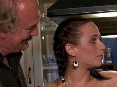 Old hubby watches a guy bangs his young wife | banged  hubby  old and young  wife  young