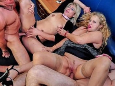REIFE SWINGER Wild mature German swingers fuck her hard in dirty foursome | 4some  amateur  blowjob  cumshots  dirty  german girls  group sex  mature  oral sex  pussy