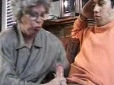 granny and grandson fuck me hard | gilf  son and mom