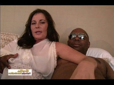 Mature interracial couple enters the exciting world of porn like pros | couple  high heels  interracial  mature