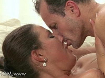 MOM MILF cant get enough of his cock | brunette   cock   mature   milf   orgasm   rimming   son and mom