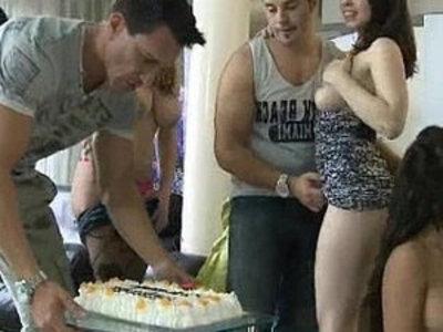 Really fuck and bukkake gangbang | bukkake  gangbang  party