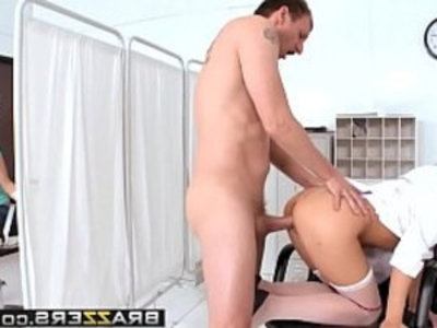 Doctor in sex Adventures Care to Donate Some Fluid scene starring Bree Olson and Mark Ashley | ass   blonde   boobs   doctor   milf   office   son and mom   stockings   tits   wife