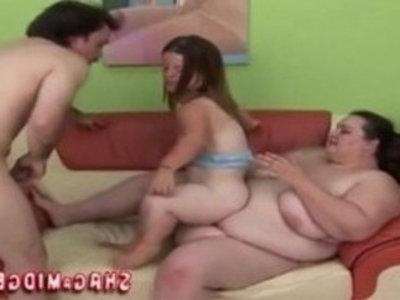 Migdet And BBW In Weird Threesome | 3some  bbw  weird