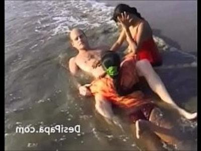 Indian Teens Threesome Group Sex On Beach   3some  amateur  beach  blowjob  desi girls  gangbang  group sex  hardcore  indian girls  teens