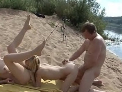 Crazy outdoor group sex of Russian amateurs | 3some   amateur   beach   blonde   blowjob   crazy   cunnilingus   doggy   girls   group sex