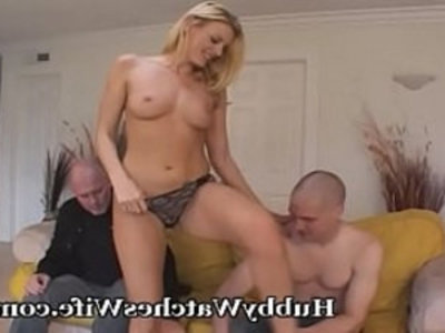 Hubby Supports Wife Fucking a Young Guy | blonde  blowjob  cheating wife  cuckold  hardcore  hubby  milf  sharing girlfriends  swingers  wife