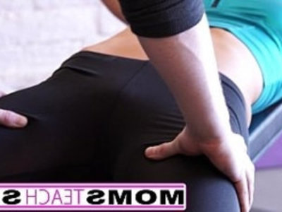 Mom teaches daughter first time threesome | 3some  blowjob  cumshots  daughter  first time  milf  skinny  son and mom  stepmom