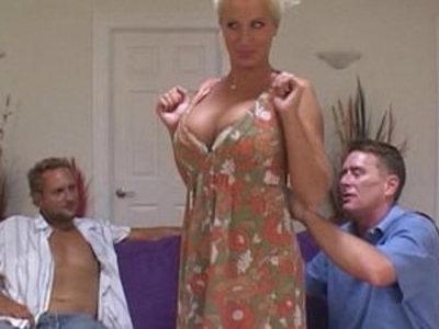 Naughty slut MILF Shares Pussy fucking With Friend | boyfriend  friends  milf  naughty girls  pussy  sharing girlfriends  sluts