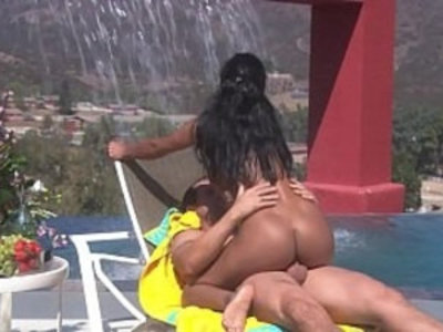 Small Tits Firm Body Jamaican Babysitter fucked Hard and Rough by the Pool   babysitter  nipples  outdoor  pool party  public sex  rough sex  sexy girls  small tits  teens  tight pussy