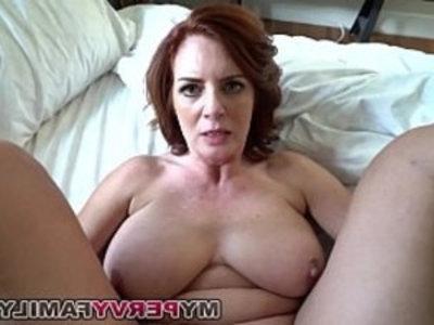 Horny Milf Andy Fucks Step Sons Big Cock! | blowjob  busty  cumshots  family taboo  horny girls  huge boobs  huge cocks  milf  pov  redhead