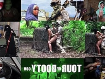 TOUR OF BOOTY Local Arab Girl Entertains American Soldiers In The Middle East | 3some   american girls   arabian girls   big booty   blowjob   family taboo   girls   hardcore   uniform