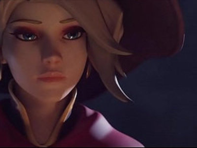 Witch Mercy X Reaper Halloween Animation by Yeero | animation