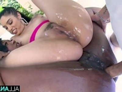 ALL ANAL Skyler and Vanessa both get ass fucked | 3some   anal   ass   ass worship   blowjob   creampies   ebony   interracial   latin girls   rimming