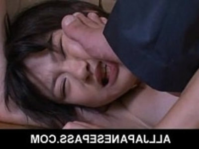 Japanese teen Aoba Itou caught with bottle in her pussy | asian girls   ass   bdsm   bondage   caught   doggy   fingering   insertion   japanese girls   masturbation