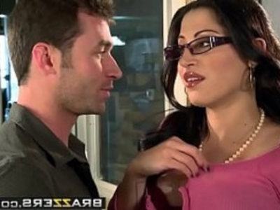 Big Tits at Work You Fuck My Son You Are Fired scene starring Daisy Cruz and James Deen | ass   big tits   blonde   boobs   milf   mother   pounding   school girls   son and mom   stepmom